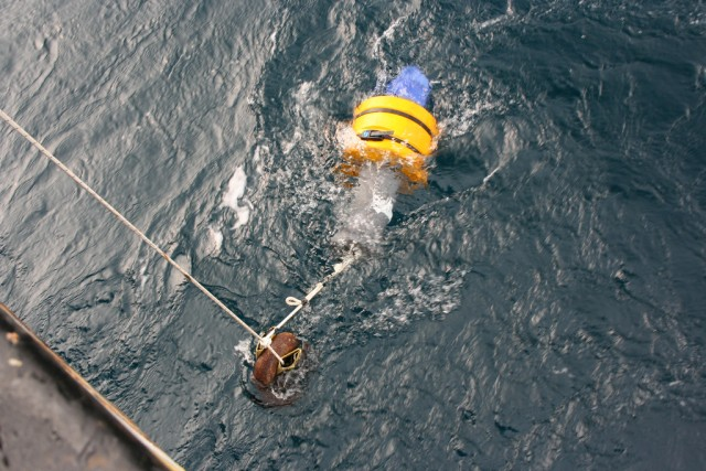 Deploying Acoustic Recorder Device